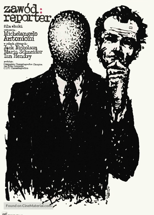Professione: reporter - Polish Movie Poster