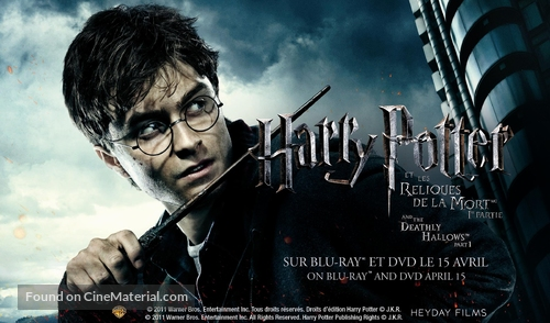 Harry Potter and the Deathly Hallows: Part I - Canadian Movie Poster
