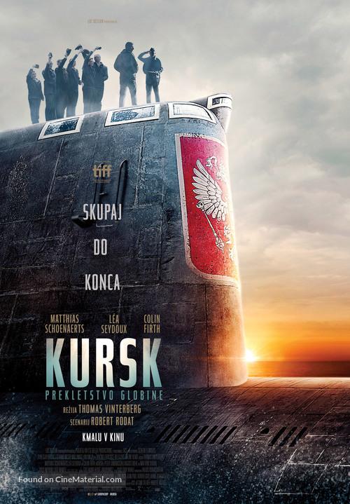 Kursk - Slovenian Movie Poster
