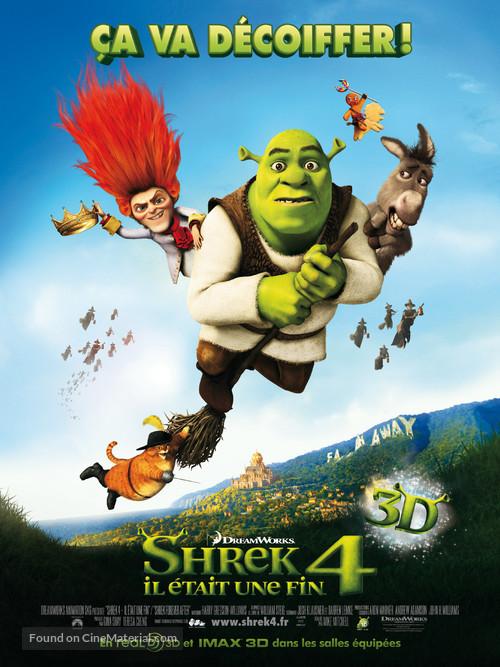 Shrek Forever After - French Movie Poster