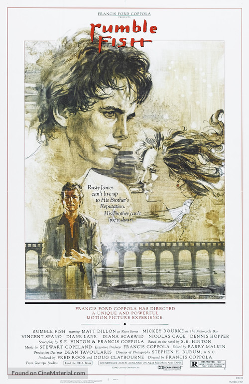 Rumble Fish - Movie Poster