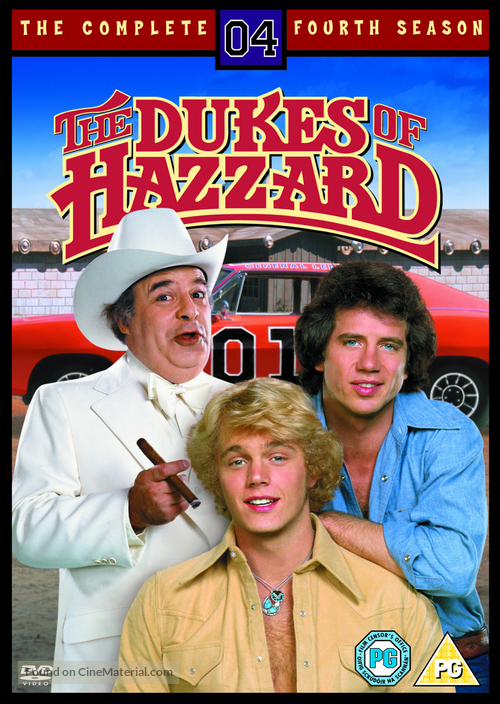 """The Dukes of Hazzard"" - British DVD movie cover"