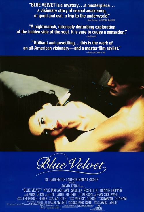 Blue Velvet - Theatrical movie poster