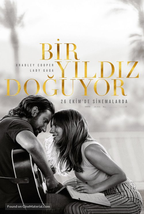 A Star Is Born - Turkish Movie Poster