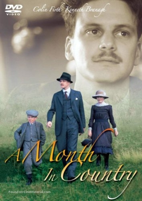 A Month in the Country - Japanese DVD cover