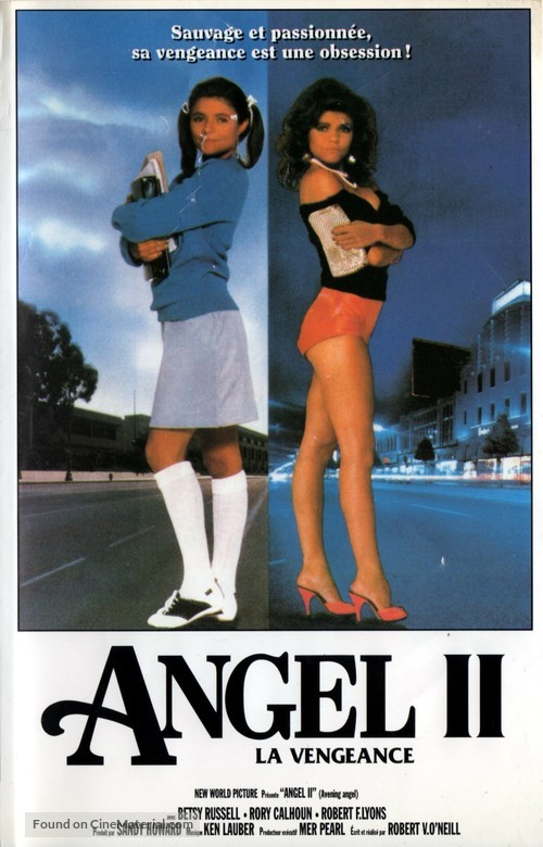 Avenging Angel - French VHS cover