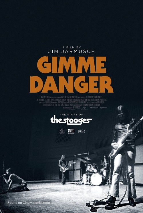 Gimme Danger - Movie Poster