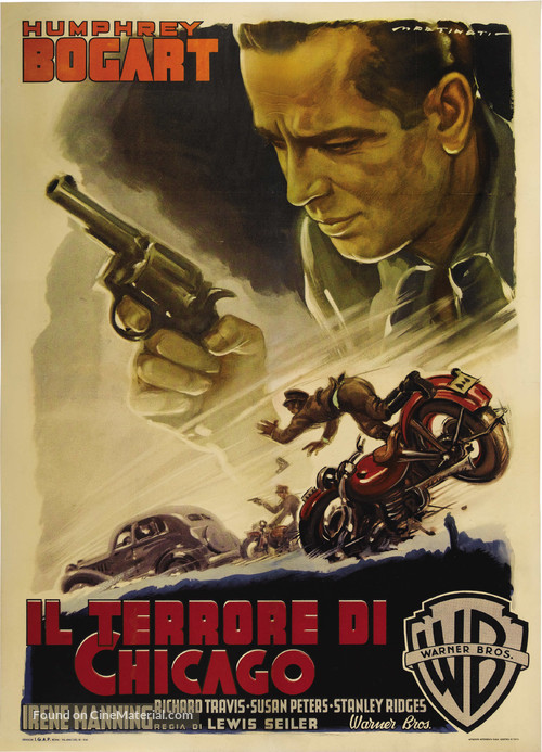 The Big Shot - Italian Movie Poster