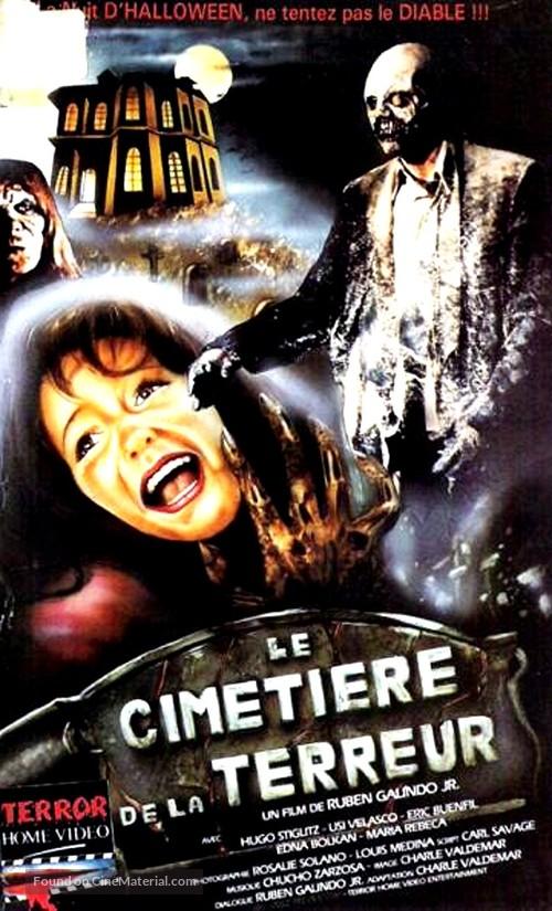 Cementerio del terror - French VHS movie cover