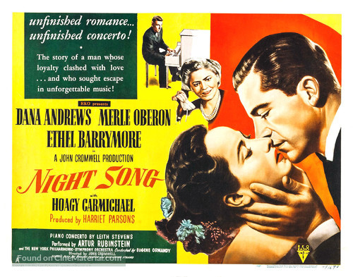 Night Song - Movie Poster