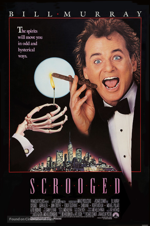 Scrooged - Movie Poster