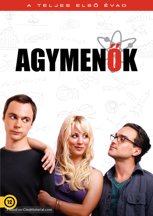 """The Big Bang Theory"" - Hungarian Movie Cover"