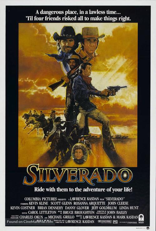 Silverado - Australian Movie Poster