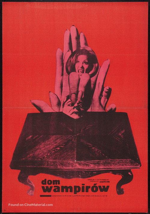 The House That Dripped Blood - Polish Movie Poster