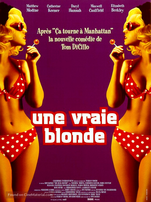 The Real Blonde - French Movie Poster