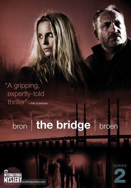 """Bron/Broen"" - DVD movie cover"