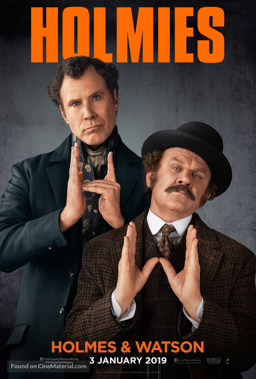 Holmes & Watson - Malaysian Movie Poster