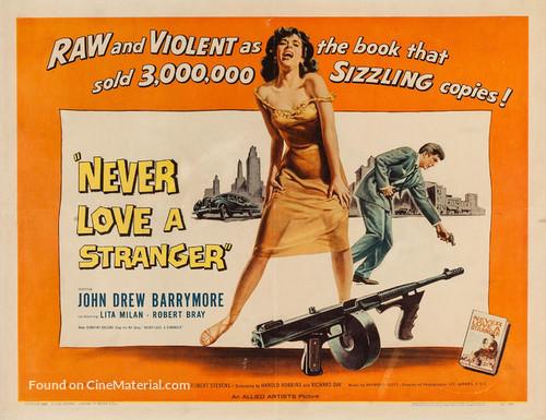 Never Love a Stranger - Movie Poster