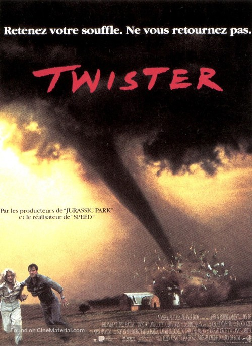 Twister - French Movie Poster