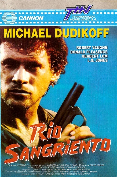 River of Death - Argentinian VHS movie cover