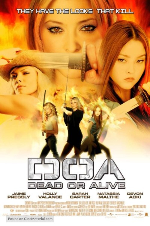 Dead Or Alive - Thai Movie Poster