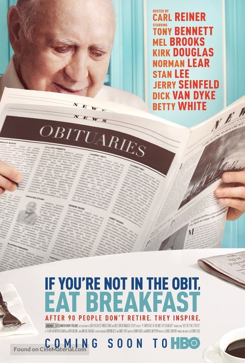 If You're Not in the Obit, Eat Breakfast - Movie Poster