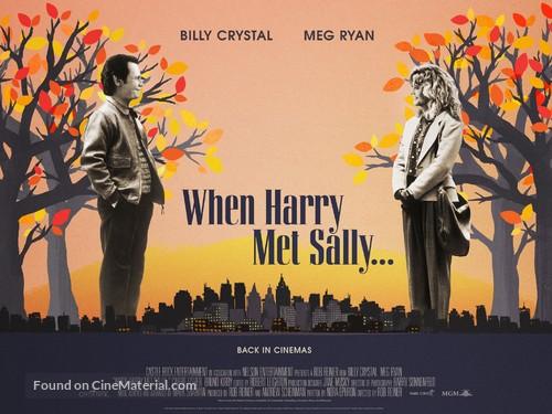 When Harry Met Sally... - British Movie Poster