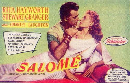 Salome - Spanish Movie Poster