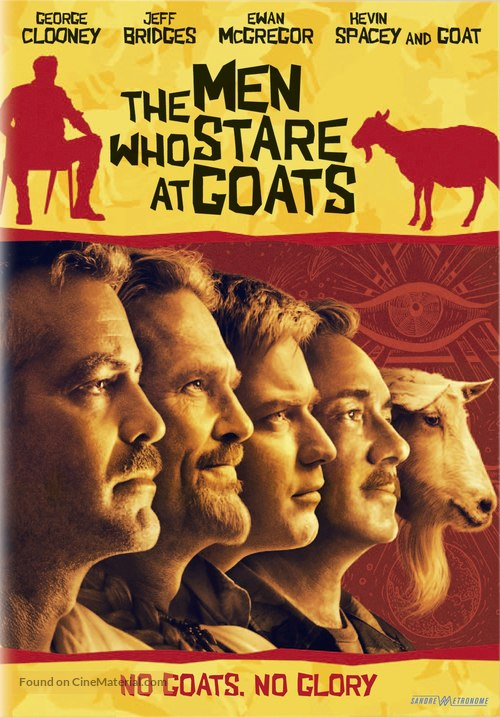 The Men Who Stare at Goats - Swedish DVD cover