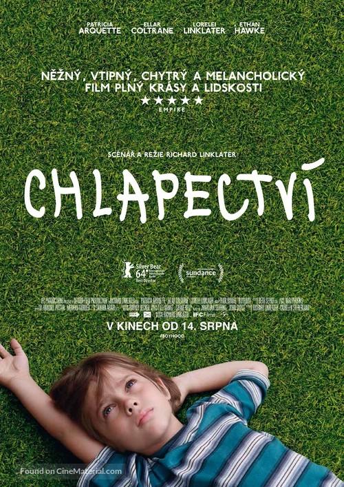 Boyhood - Czech Movie Poster