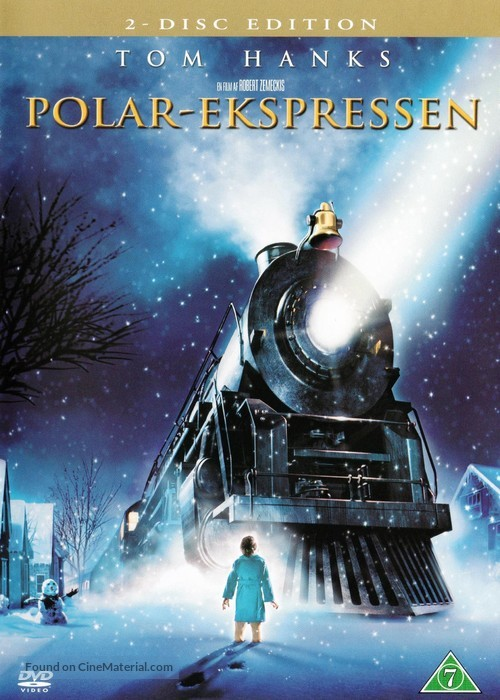 The Polar Express - Danish DVD movie cover