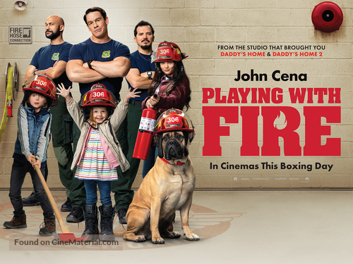 Playing with Fire - British Movie Poster