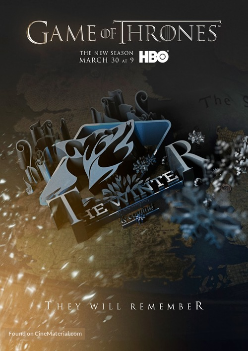 """""""Game of Thrones"""" - Movie Poster"""