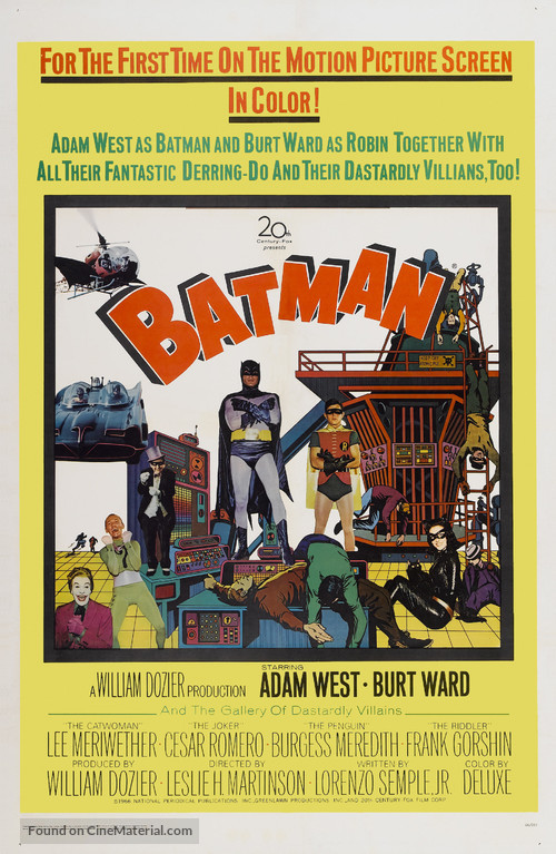 Batman - Theatrical movie poster