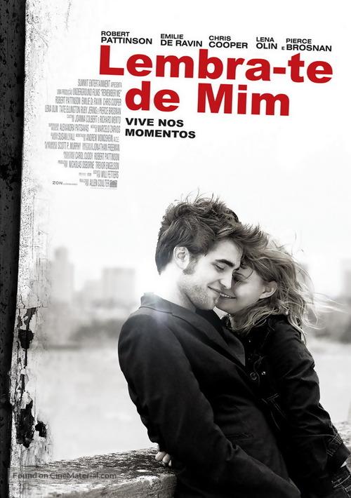 Remember Me - Portuguese Movie Poster
