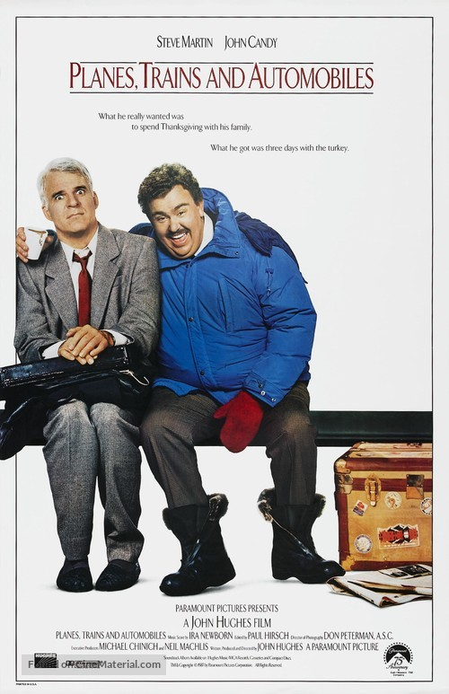Planes, Trains & Automobiles - Movie Poster