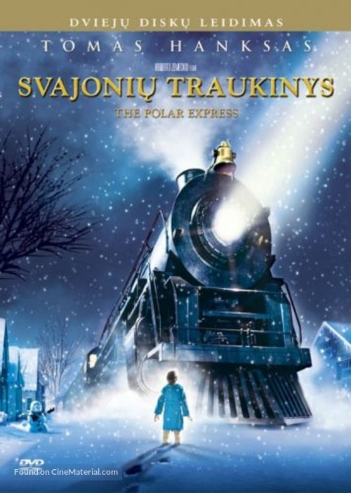 The Polar Express - Lithuanian DVD movie cover