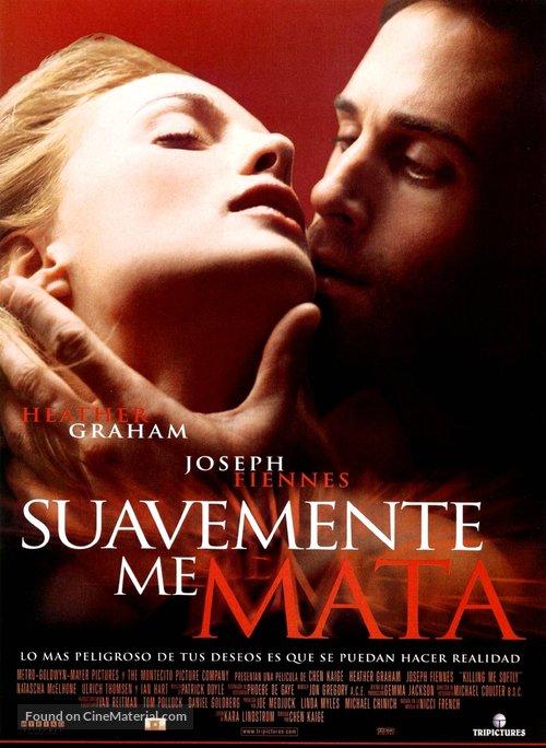 Killing Me Softly - Spanish Movie Poster