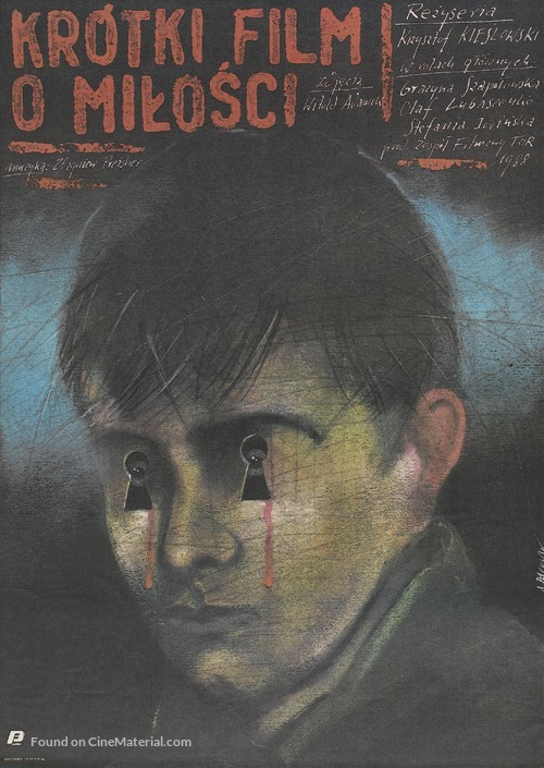 Krótki film o milosci - Polish Movie Poster