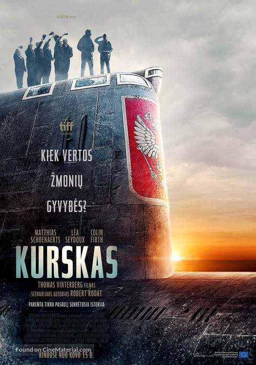 Kursk - Lithuanian Movie Poster