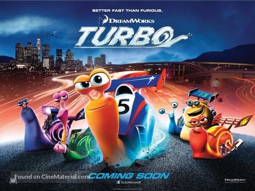Turbo - British Movie Poster