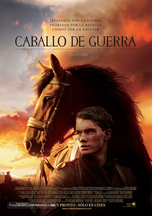 War Horse - Argentinian Movie Poster