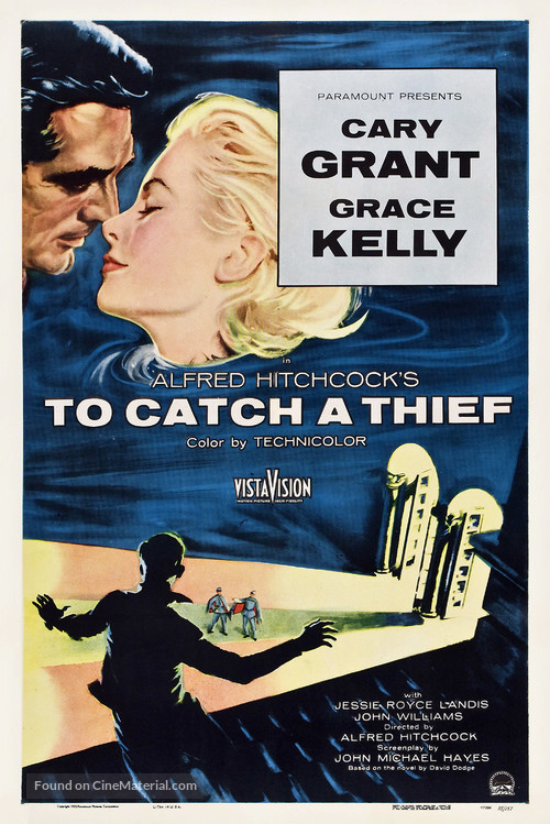 To Catch a Thief - Theatrical movie poster