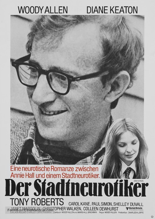 Annie Hall - German Movie Poster