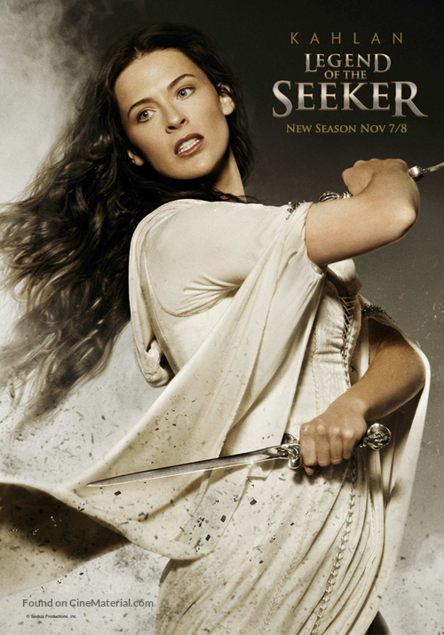 """Legend of the Seeker"" - Movie Poster"