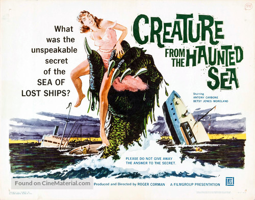 Creature from the Haunted Sea - Movie Poster