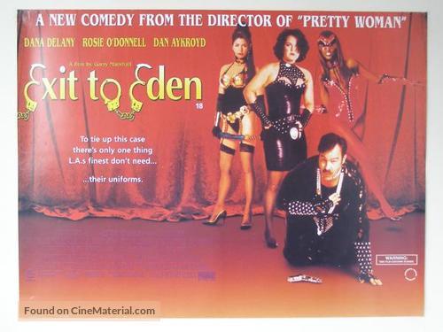 Exit To Eden British Movie Poster