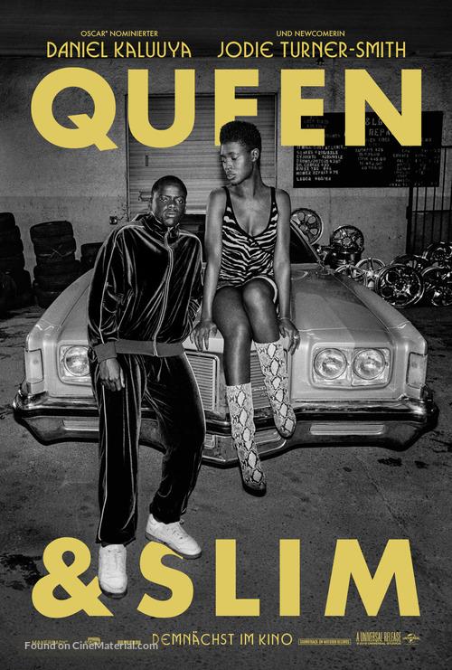 Queen & Slim - German Movie Poster