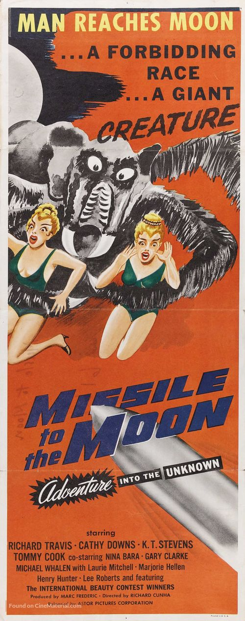 Missile to the Moon - Movie Poster