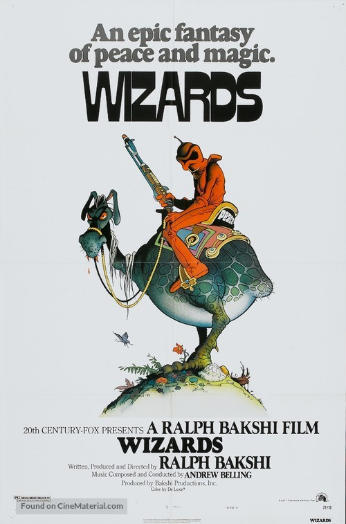 Wizards - Movie Poster